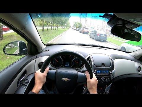 2014 Chevrolet Cruze 1.6L (109) POV TEST DRIVE