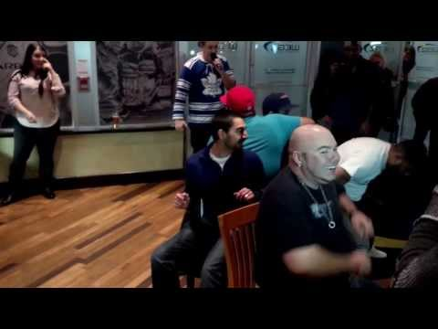 Musical Chairs for a pair of Toronto Maple Leafs tickets.