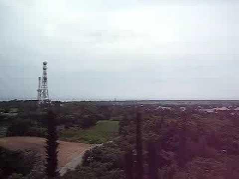 多良間島の八重山遠見台(東側の景色)