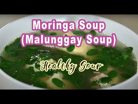 Moringa Soup (Malunggay)