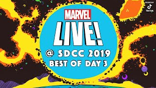 Best of Marvel @ SDCC 2019! Day 3
