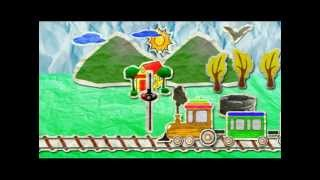 Paper Train Live Wallpaper
