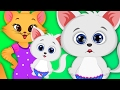 Kitty Mom and Newborn Care - Pregnant Kitty Games for Girls