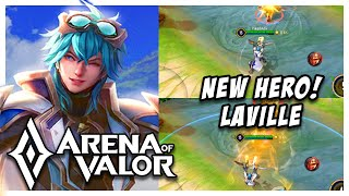 NEW HERO: LAVILLE (HOU YI) GAMEPLAY + SKILLS EXPLAINED | Arena of Valor | AOV | RoV | LienQuanMobile