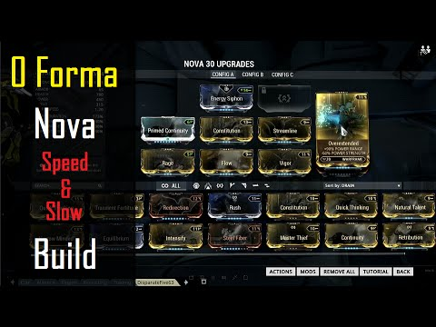 Image Result For Warframe Nova Build