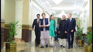 Royal visit: Royal Couple meet PM Imran Khan, President Alvi 🇵🇰 🇬🇧