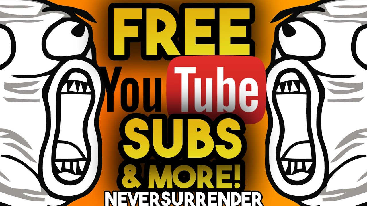 FREE YOUTUBE SUBSCRIBERS LIKES VIEWS COMMENTS 2019 - HOW TO GET FREE  YOUTUBE SUBSCRIBERS BOT