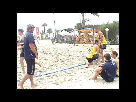 2013 game Masters Umag m1 3 Detono Zagreb Budaors beach stars group