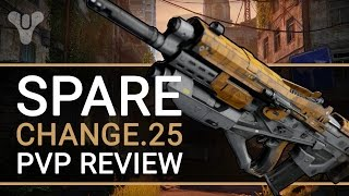 Destiny: SPARE CHANGE.25 Pulse Rifle PvP Review | Best Perks