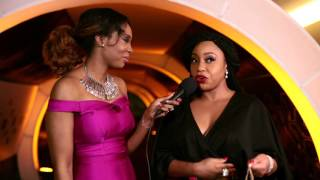 Rita Dominic  RMD  AY at Alibaba Concert -On the Carpet with Bolinto