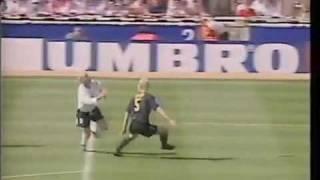 Paul Gascoigne Goal for England v Scotland at Wembley Euro 96 thumbnail