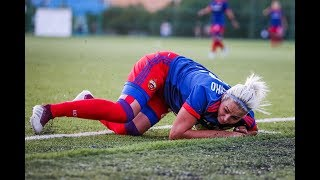 Травмы в женском футболе |Жесткая тренировка |Серия 5