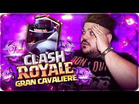 4 LEGGENDARIE IN 5 BAULI !!! GRAN CAVALIERE CHEST OPENING [Clash Royale]