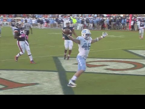 UNC Football: Thomas Jackson - Walk-On to Playmaker