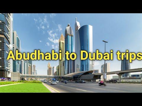 ABUDHABI TO DUBAI ROAD