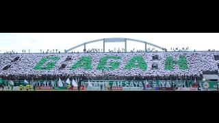 "(HD) Amazing Koreo Brigata Curva Sud, bertemakan ""PSS SLEMAN GAGAH"" Kebanggaan gue!"