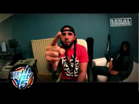 Brav (Din Records),Alivor et Madsy(S.O Crew) freestyle pour Give me 5 prod.