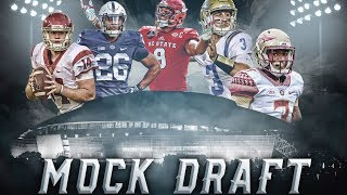 2018 NFL Mock Draft 1.0 2017 Video