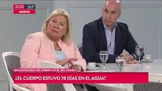 """La desafortunada frase de Carrió sobre Maldonado: """"Es como ..."""