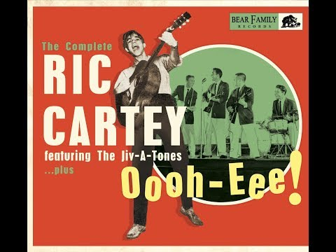 The Complete Ric Cartey Featuring The Jiv A Tones Bear Family Records