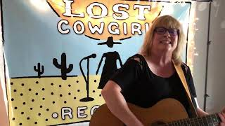 """Runnin' Back To You"" by Terri Laddusaw in Lost Cowgirl Records Studio"
