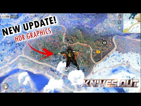 *NEW GRAPHICS UPDATE*! KNIVES OUT GAMEPLAY Android 2018