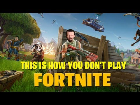 This is How You Don't Play Fortnite (with Memology 101)