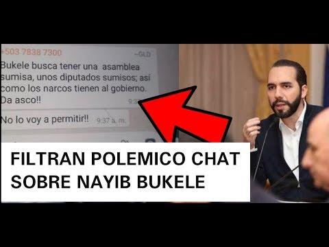 Filtran Chat Esto Planeaban Contra Nayib El Presidente De Arena