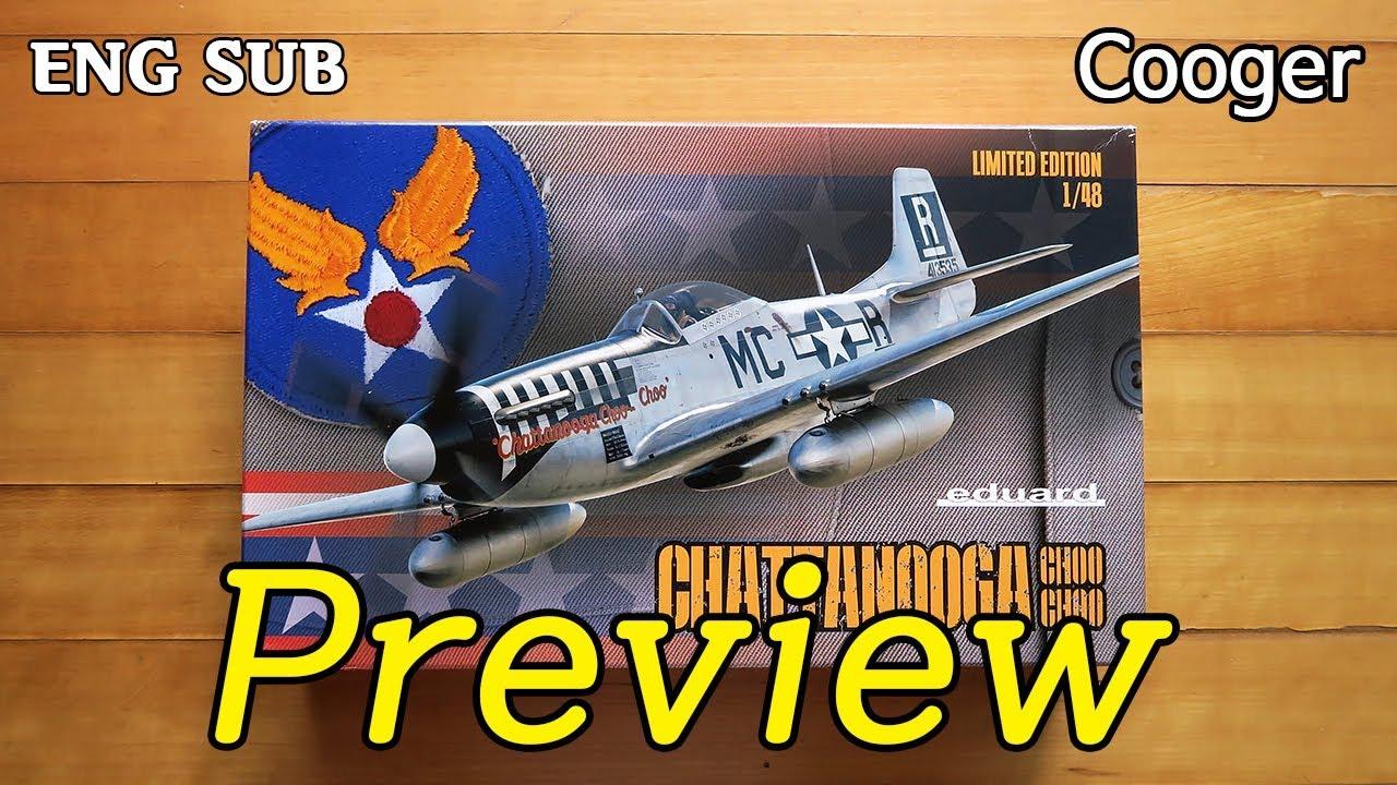 EDUARD 11134 P-51D Chattanooga Choo Choo Mustang in 1:48 LIMITED EDITION ! Neu