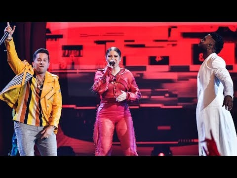 Sofia Reyes Feat. Jason Derulo & De la Ghetto - 1,2,3 (En Vivo) Premios Juventud 2018