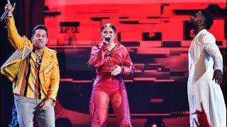 Gambar cover Sofia Reyes Feat. Jason Derulo & De la Ghetto - 1,2,3 (En Vivo) Premios Juventud 2018