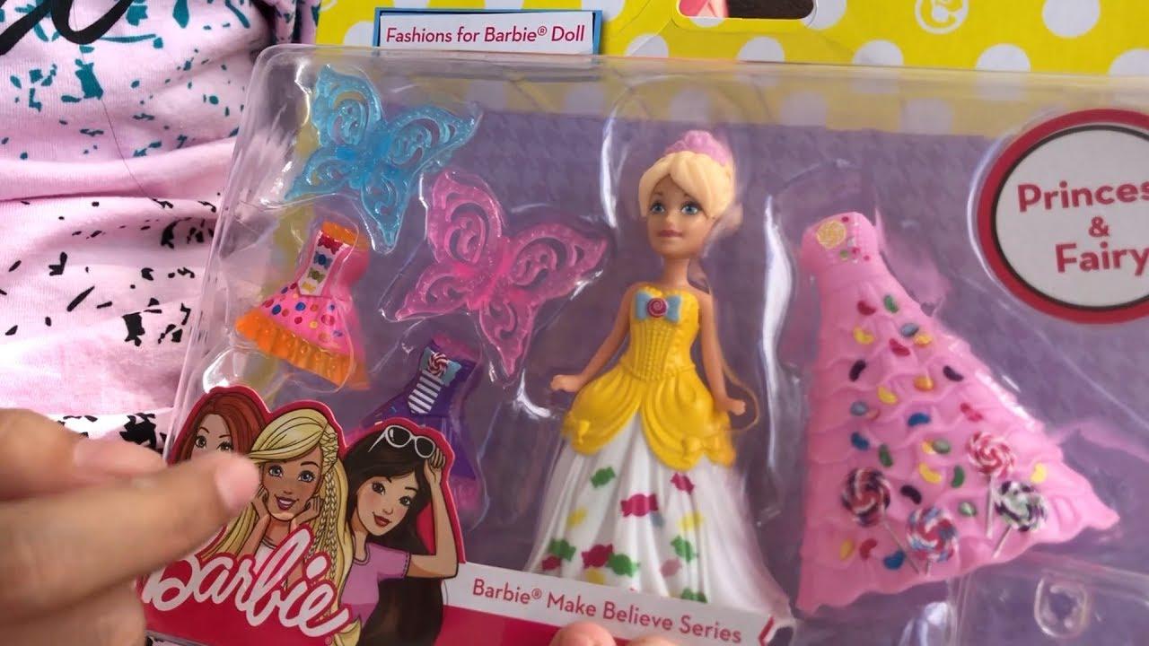 Unboxing Mainan Anak Perempuan Boneka Princess Fairy Barbie Youtube