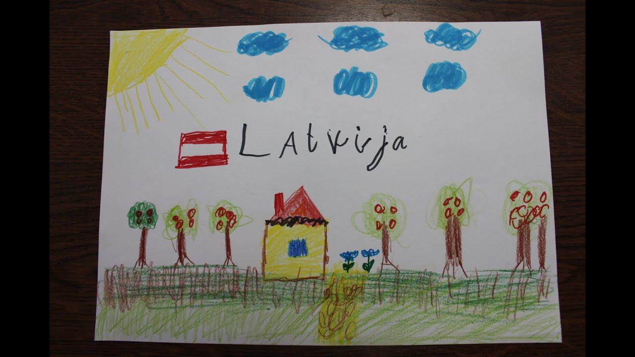 Mēs, Rīgas Daugavas pamatskola, sveicam Latviju Neatkarības atjaunošanas gada dienā!