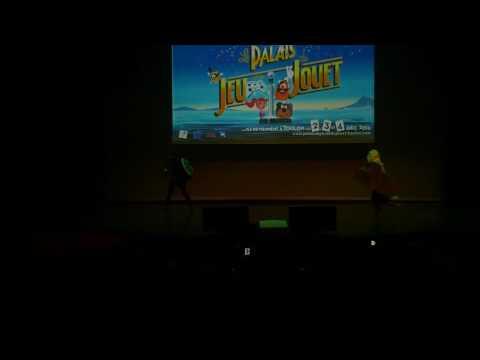 related image - Palais du Jeu et du Jouet 2016  - Toulon - Concours Cosplay - 03 - cross over  Zelda - Ezio