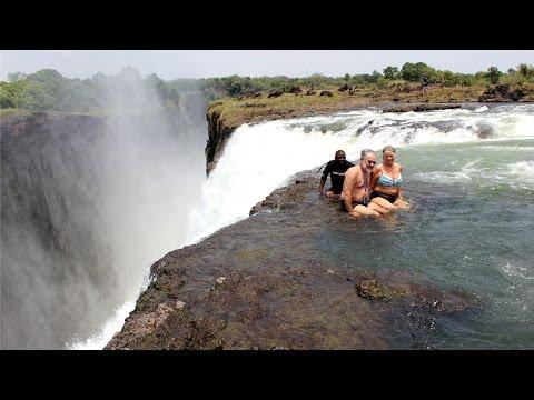 Devil's Pool - Victoria Falls, Zambia & Zimbabwe. 2014 November
