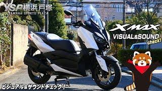 XMAX250のビジュアル&サウンドチェックbyYSP横浜戸塚