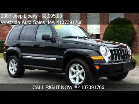 Charming 2007 Jeep Liberty Limited 4WD   For Sale In West Springfield