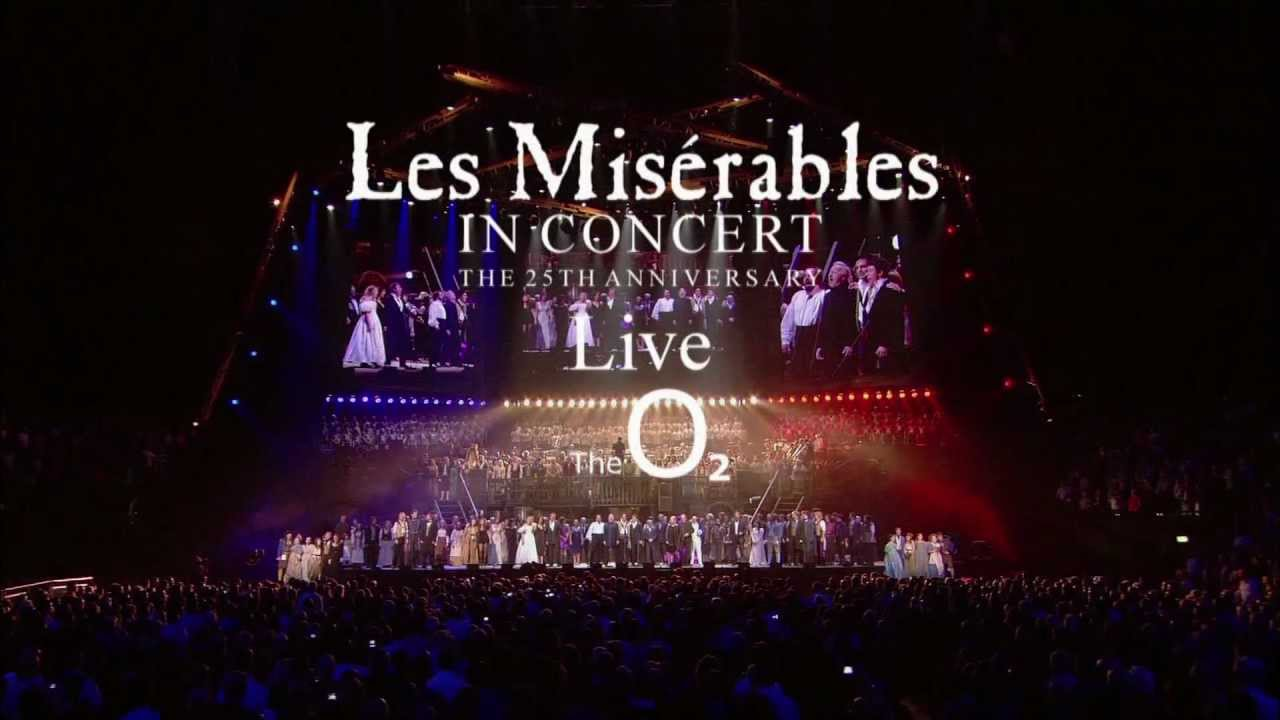les miserables 25th anniversary opening