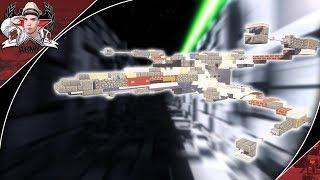 Minecraft: STAR WARS T-65 X-Wing | Starfighter Tutorial {Landed + In-Flight Versions}
