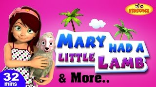 Mary Had a Little Lamb Plus Lots More 3D Nursery Rhymes For Childen From Kidsone