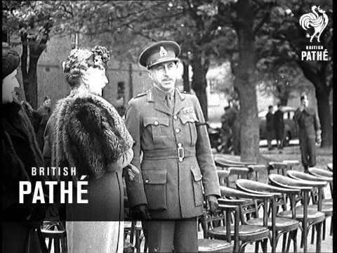 Earl Of Athlone Visits Canadian Troops (1940)