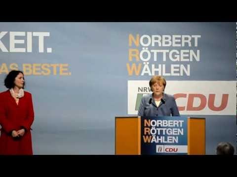 I met the German Chancellor Angela Merkel
