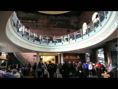 Boston Visitors' Guide Series: Quincy Market