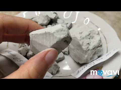 Глины Мелеуз Голубая и Голубая солёная (Башкирия)