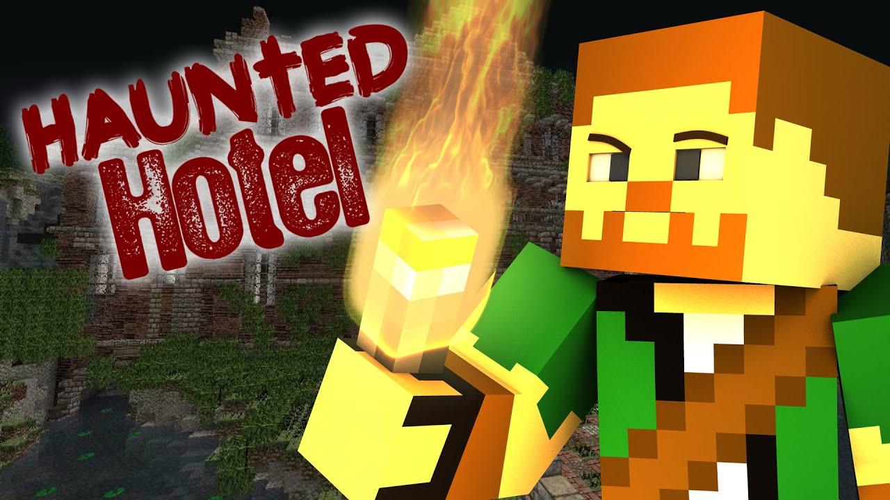 "Haunted Hotel "" Hotel"" Minecraft Roleplay"