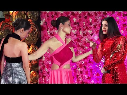 Aishwarya Rai, Karishma Kapoor, Kareena Arrives At LUX GOLDEN ROSE AWARDS 2018