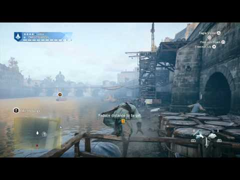 Assassin's Creed Unity - Starving Times: Chase The Leaving Barge (Boat) Sequence & Madam Cutscene