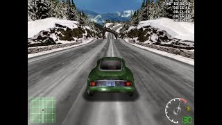 Test Drive 5 (1998) PC Playthrough - Cup Race - Masters Cup