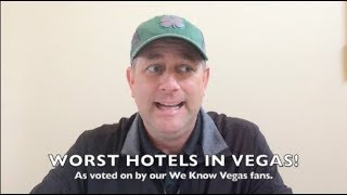 WORST Hotels in Las Vegas! Top 5 Worst & Cheapest Hotels in Las Vegas
