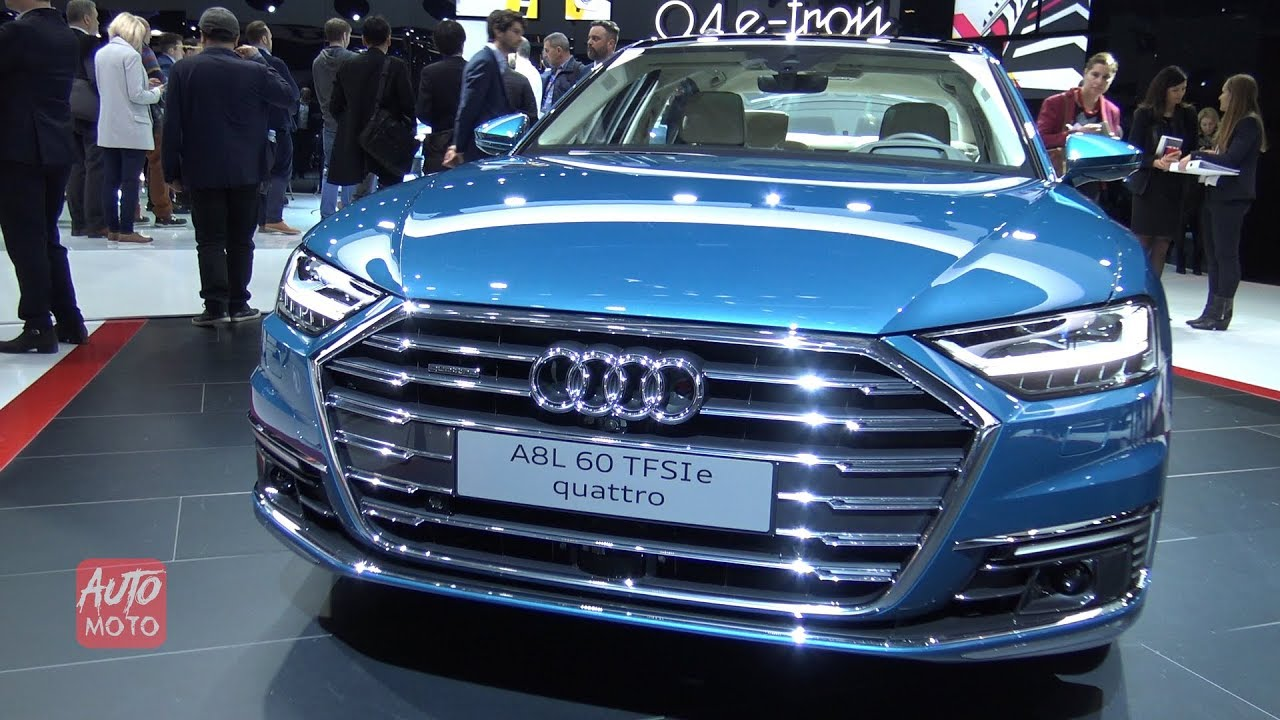 2020 Audi A8l 60 Tfsi E Quattro Exterior And Interior Walkaround Debut At Geneva Motor Show 2019 Youtube